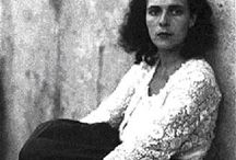 """Leonora Carrington / """"I am as mysterious to myself as I am mysterious to others."""""""
