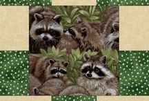 Susan's Quilt Raccoons