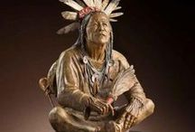 Star Liana York - Bridging Worlds - Human, Animal, Divine / Bronze sculpture  ||  Native American, Western, bears, horses, ravens, rabbits, deer, elk, birds, fox, coyote, fetishes, small works, life-size, monumental