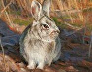 Edward Aldrich / Sophisticated Wildlife Portraits  ||  Oils on Canvas  || Landscapes, Bison, Coyote, Elk, Bear, Wolf, Puma, Fox, Jay, Bobwhite, Rabbit