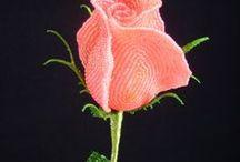 Бисер Розы Первоцветы