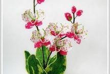 Бисер Ирисы Орхидеи