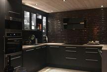 Hyttebygging kjøkken / Cabin kitchen in Norway