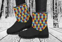 Faux Fur Boots / Custom designed quality fur boots!