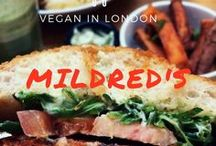 London Eats / A guide to the best vegan and vegetarian-friendly restaurants/eats in London!