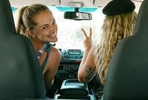 Girls Weekend Roadtrip / Nothing better than hitting the road with your bestie!