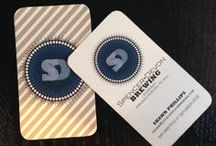 business cards / by Caroline Smalley