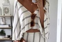 .my style. / I love all styles, but I gravitate towards the boho-chic look.