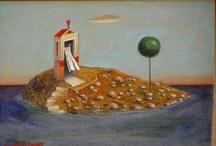 Dimitris Milionis Paintings / Δημήτρης K. Μηλιώνης