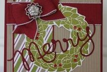 Stampin Up Christmas/Winter / by Judy