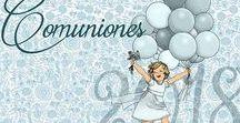 #communion #comunion / #Invitaciones, #recordatorios, etiquetas, álbumes, libros de firmas, regalos personalizados