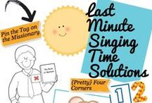 LDS Singing Time! / Ideas for teaching singing time!