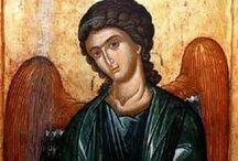 Icons Angels, Holy Trinity / Sofia Wisdom, Ikoni Enkelit, Änglar