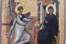 Icons Life of Theotokos / Anunciation, dormition, visitation,