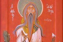 Icons Holy men / Orthodox holy icons, iconpainting