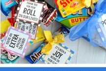 Teacher Appreciation / A collection of the best ideas to use for Teacher Appreciation Week!