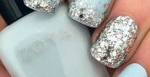 Pretty Nail Polish / Pretty nail polish colours and designs that we love. Bling bling glitter designs, natural nude colours, stylish creative designs etc. Be it glossy or matte, we love them all!