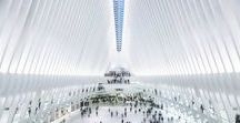 """Destination New York City, Oculus / News from New York City - the """"Oculus"""" at Ground Zero, the world's most expensive subway station is completed."""