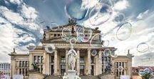 Berlin, Germany´s Capital / Germany's capital captured in an unusual way -  Konzerthaus, Gendarmenmarkt, Brandenburg Gate, Pariser Platz, Reichstag, Spree, Potsdamer Platz, Konzerthaus and German Dom, Hackesche Höfe, Bikini Berlin, Glienicker Brücke, James-Simon-Park, Alte Nationalgalerie, Siegessäule, Holocaust Memoria, Alexanderplatz and much more from Berlin, Germany