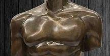 Interior inspiration for bronze sculptures - Bronze Skulpturen Innenräume Ideen