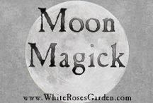 Moon Magick / Spells, rituals, visualizations, correspondence tables, herbs, incense, recipes, and everything else related to Moon Magick for pagans, wiccans & other magickal traditions.