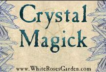 Crystal Magick / Information related to gems, crystals, and their use in magick including spells, rituals, meditations, and other magickal rites.