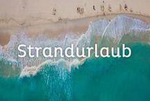 Strandurlaub / Sonne, Strand und Meer - genau das macht den perfekten Urlaub aus! Auf dieser Pinnwand zeigen wir euch die schönsten Strände aus aller Welt und verraten euch viele praktische Tipps, damit euer Badeurlaub entspannt und erholsam wird.