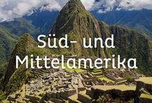 Süd- und Mittelamerika Reisen / Antike Kulturen, atemberaubende Landschaften und vieles mehr kann man in Mittel- und Südamerika entdecken. #karibik #mexiko #brasilien # chile #bolivien #peru #argentinien #ecuador #costarica #kolumbien