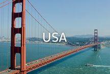 USA Reiseinspirationen / Von Kalifornien bis nach New York - von Montana bis Texas. Die USA ist sehr fassettenreich. Dadurch kann man auf einer USA-Reise auch vieles erleben ...