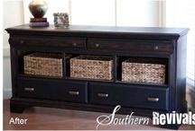 Furniture ideas  / by Renee Jones