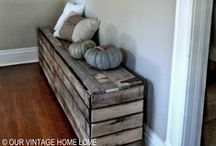 Old wood / by Renee Jones