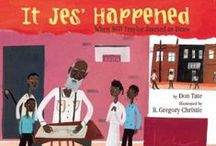 Black History Month / Recommended children's reading for Black History Month and beyond.