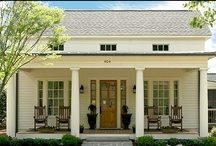 House exteriors & floor plans / by Emily Zona