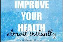 Body and heath / cuerpo y salud / Tips to keep myself healthy/ Tips para estar saludable / by Carla Vanessa