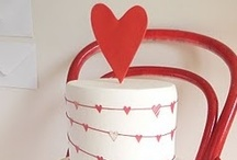 {PARTY} - Valentine's Inspired BRIDAL SHOWER For my SISTER / Red Pink Ombre - Valentine's Inspired