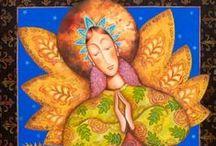 angels / Beautiful art translations of angels.