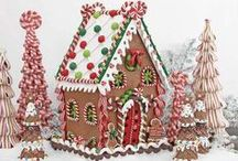 Christmas Candyland / Ideas and inspiration for a gingerbread and candy themed holiday party / by Aleah
