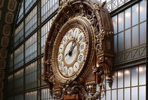Horloges, clocks, relojas