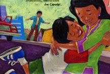 Immigration & Migration / Whether you are looking to explore the themes of the DREAM Act, learn more about the journey of your own family, or see America from a different angle, these books reveal the complexities, challenges, joys, and surprises of coming to a new place. Join these characters as they share their challenges and excitement in moving to a new culture and new school, helping their families adjust, and juggling their home culture with a new culture.