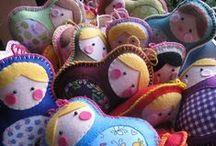 matryoshka / babushka dolls and art