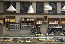 cafés & restaurants & stores / by Artemis Marrero