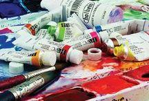 vegan art supplies / I'd prefer that my art supplies be animal free.