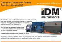IDM Instruments Testing Equipment / IDM full range of testing equipment manufactured in Australia.
