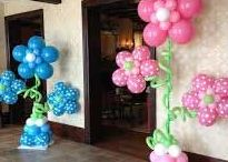 Balloon Decorators in Texas / Balloon Arches, Balloon Columns, and Balloon Decorating for receptions, parties, weddings, special events, carnivals and more....www.TexasPartyPeople.com has many Texas based balloon decorators