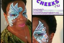 Texas Face Painter Professionals / Face Painter services, state-wide/Texas. Vendors and providers of face painting services, for private events, company events, corporate events- Carnivals in Texas requiring face painting services