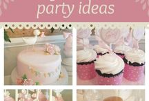 Baby Shower Party Inspiration / Tips / Baby Shower Planning // printables and decorating ideas