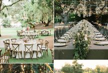 Outdoor Wedding Ideas and Inspiration / Texas Outdoor Wedding / Garden Wedding Ideas