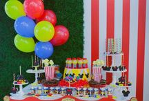 Circus Party for Texas kids / Ideas + Inspirations / Circus Party ideas DIY / and Printables for Texas Circus Party Theme