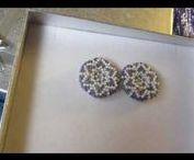 """earrings Sale of the winter collection """"Snowflakes"""" \ Распродажа сережек из зимней коллекции / Акция со скидками в честь нового года"""