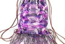 ✸SP Bag PINK COACHELLA✸ / Genuine python bags and accessories Sacs et accessoires en python véritable